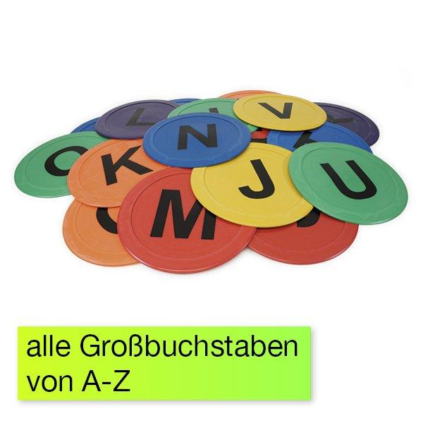 """Boden-Buchstaben """"Bewegtes Lernen"""" A-Z, 26-tlg."""