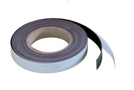 Magnet-Streifen selbstklebend, 20 mm, 10 m