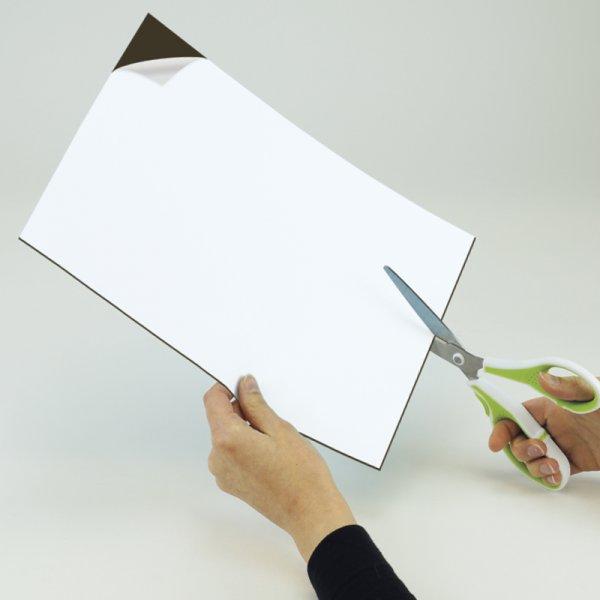 Magnet-Platte A4, selbstklebend, 1,2 mm breit