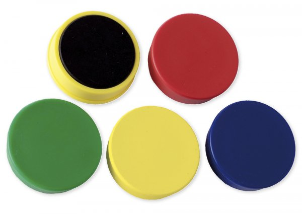 Set Haft-Magnete 32 mm ø, 4 x 10-er Box