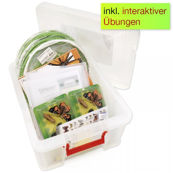Hagemann Forscherkoffer Schmetterlings-Zucht, 46-tlg