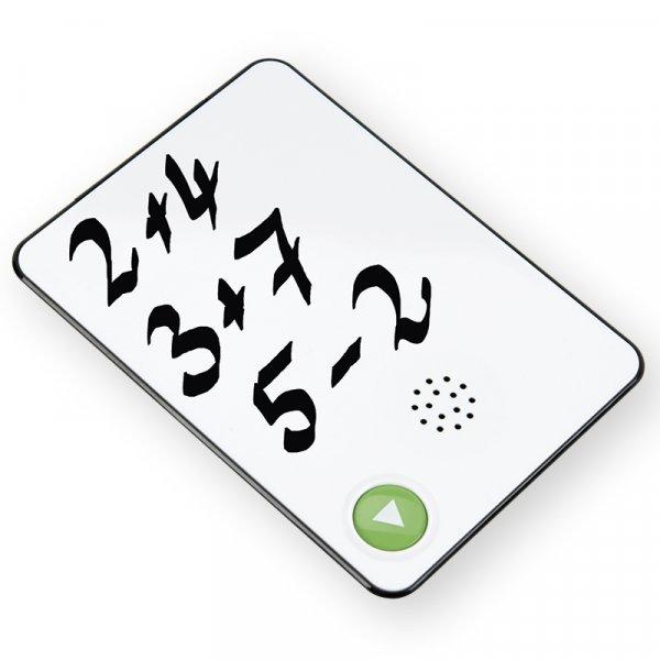 Sprach-Rekorder mit Whiteboard A6, beschreibbar