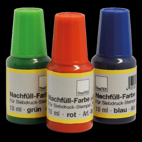 """Farbe für Siebdruck-Stempel """"Perpetuum"""" 10 ml"""