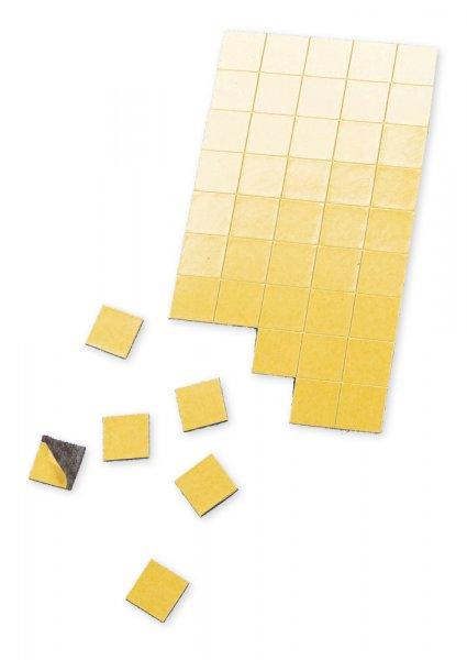 Magnet-Plättchen selbstkl., 20x20 mm, 100 Stck