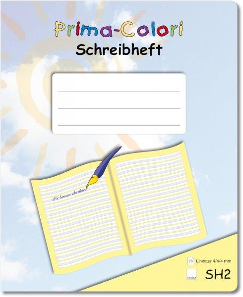 Prima-Colori Schreibheft SH2a
