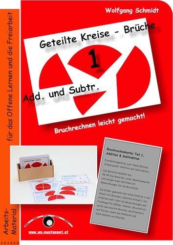 Arbeitsmappe Bruchrechenkartei I