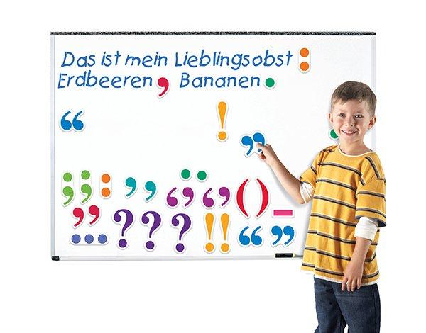 Demo-Satzzeichen magnetisch, 11 cm, 36 Stk.