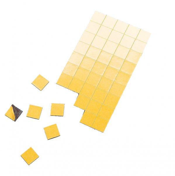 Set Magnet-Plättchen selbstkl., 5 verschiedene Größen, 434-tlg.