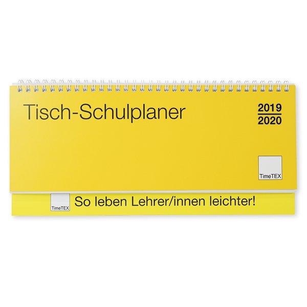 TimeTEX Tisch-Schulplaner 2019/2020, Querformat