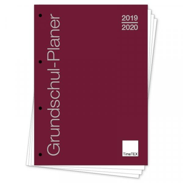 """TimeTEX Grundschul-Planer """"lose Blatteinlage"""", A4 2019/2020"""