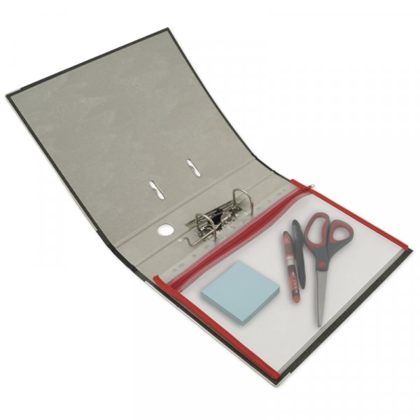 Reißverschluss-Tasche A4 zum Abheften
