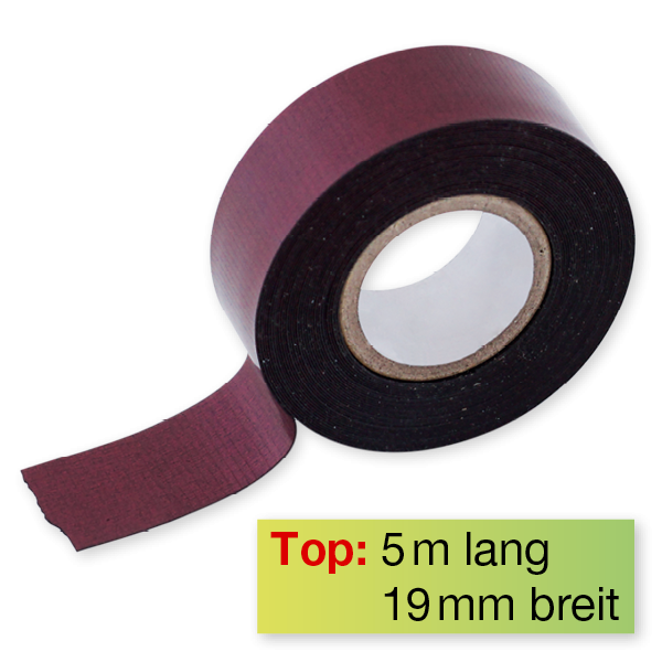 Magnet-Band farbig, selbstkl., 19 mm, 5 m auf Rolle