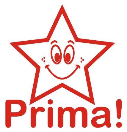 "Siebdruck-Stempel ""Perpetuum"", ""Stern - Prima"""
