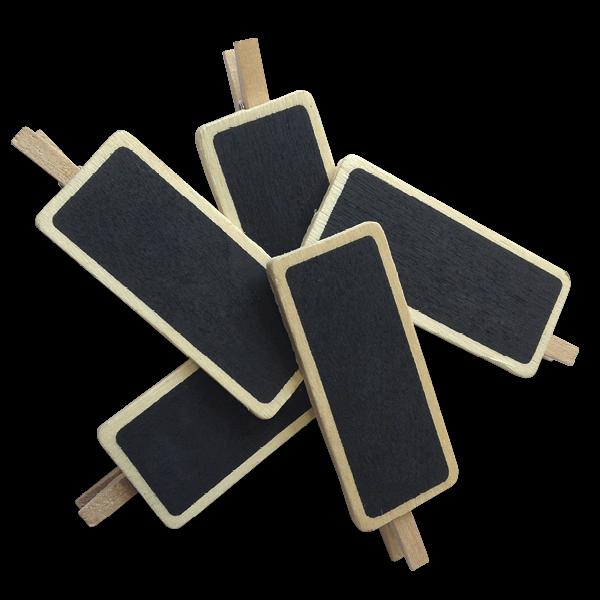 Set Tafel-Klammern, 6-tlg., 50 x 22 mm
