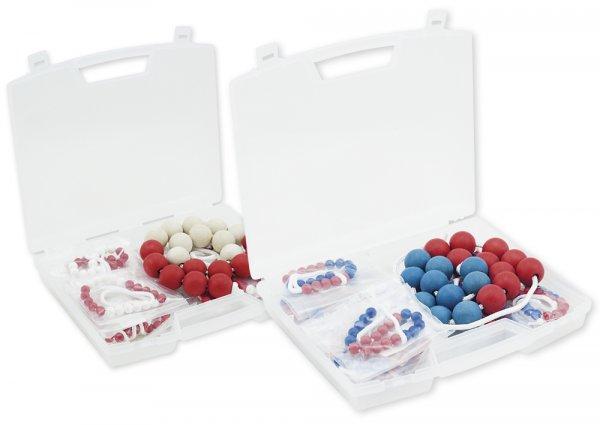 Klassensatz Rechenketten bis 20, 25-tlg. in Koffer, rot/blau, 5er-Wechsel