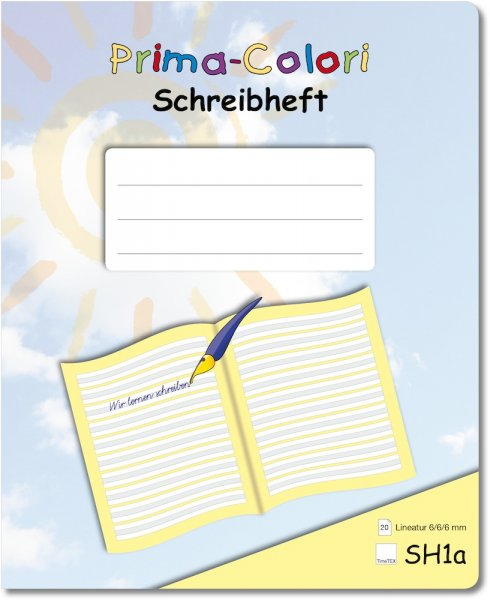 Prima-Colori Schreibheft SH1a