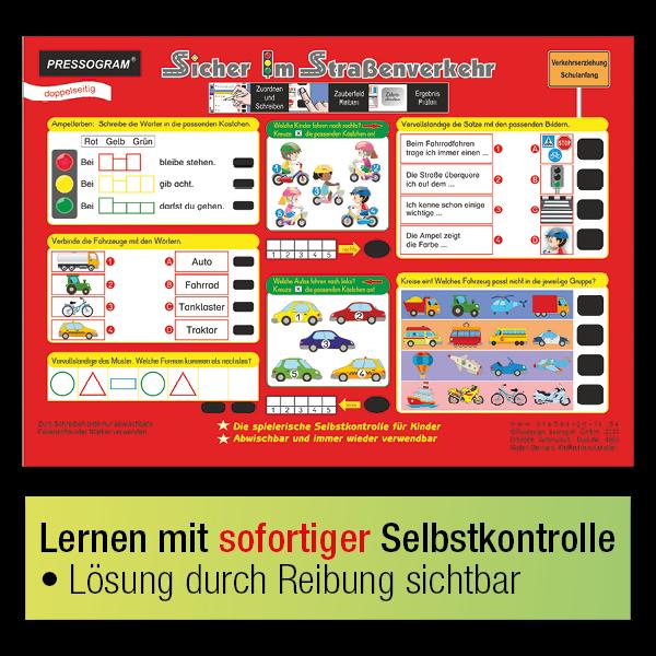 "TimeTEX Zaubertafel ""Verkehrs-Erziehung"""