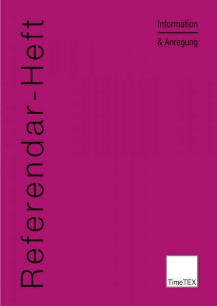 TimeTEX Referendar-Heft A4