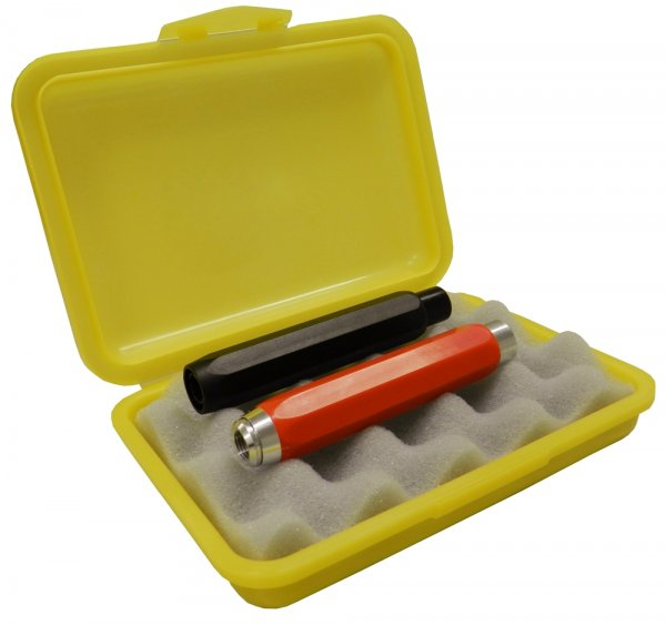Kreidebox aus Kunstst. m. Schaumstoffeinsatz