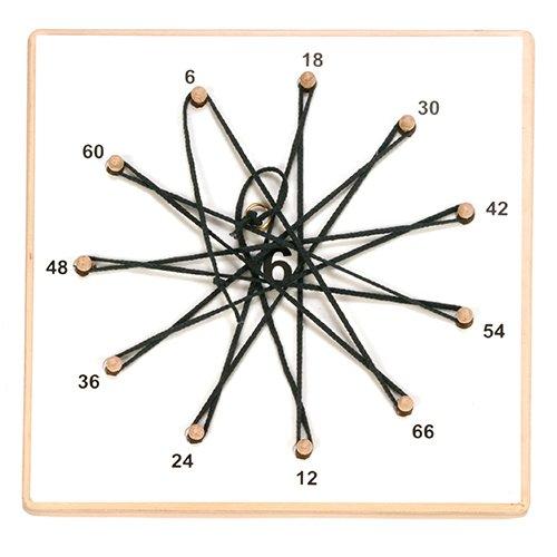 Zahlenstern mit 9 Folien