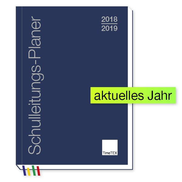 TimeTEX Schulleitungs-Planer A4-Plus, 2018/2019
